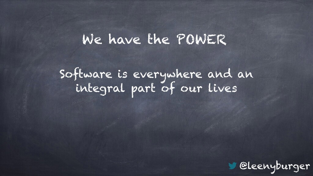 @leenyburger We have the POWER Software is ever...
