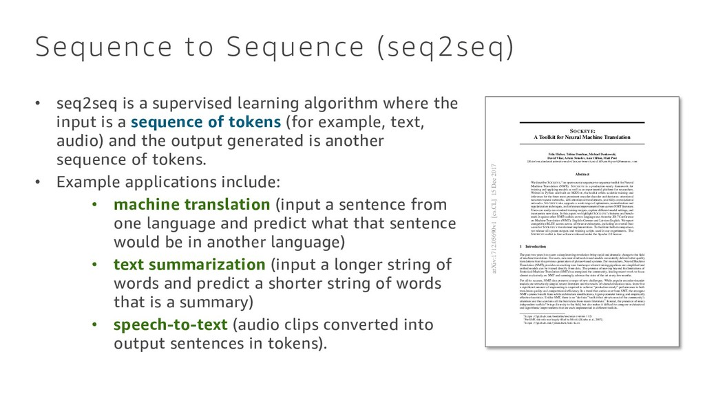 SOCKEYE: A Toolkit for Neural Machine Translati...