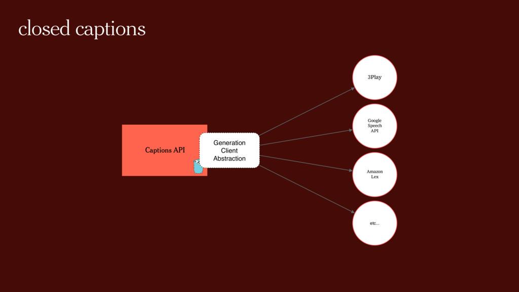 closed captions Captions API 3Play Google Speec...