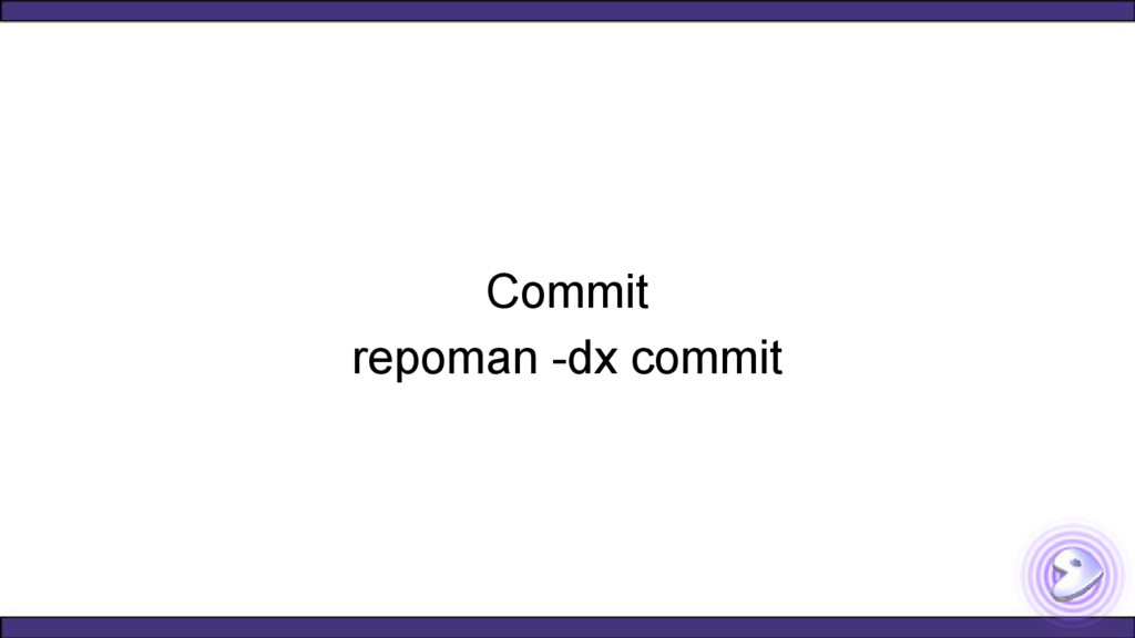 Commit repoman -dx commit