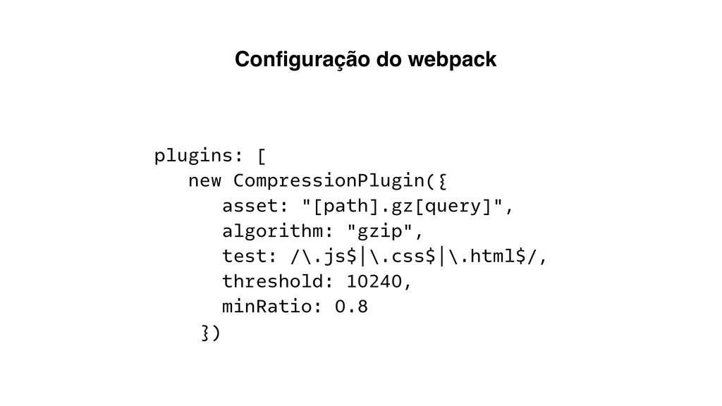 """plugins: [ new CompressionPlugin({ asset: """"[pat..."""