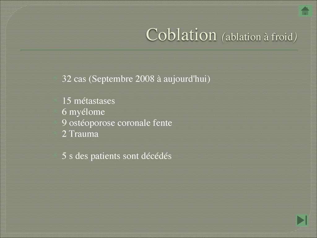 ⦿ 32 cas (Septembre 2008 à aujourd'hui) ⦿ 15 m...