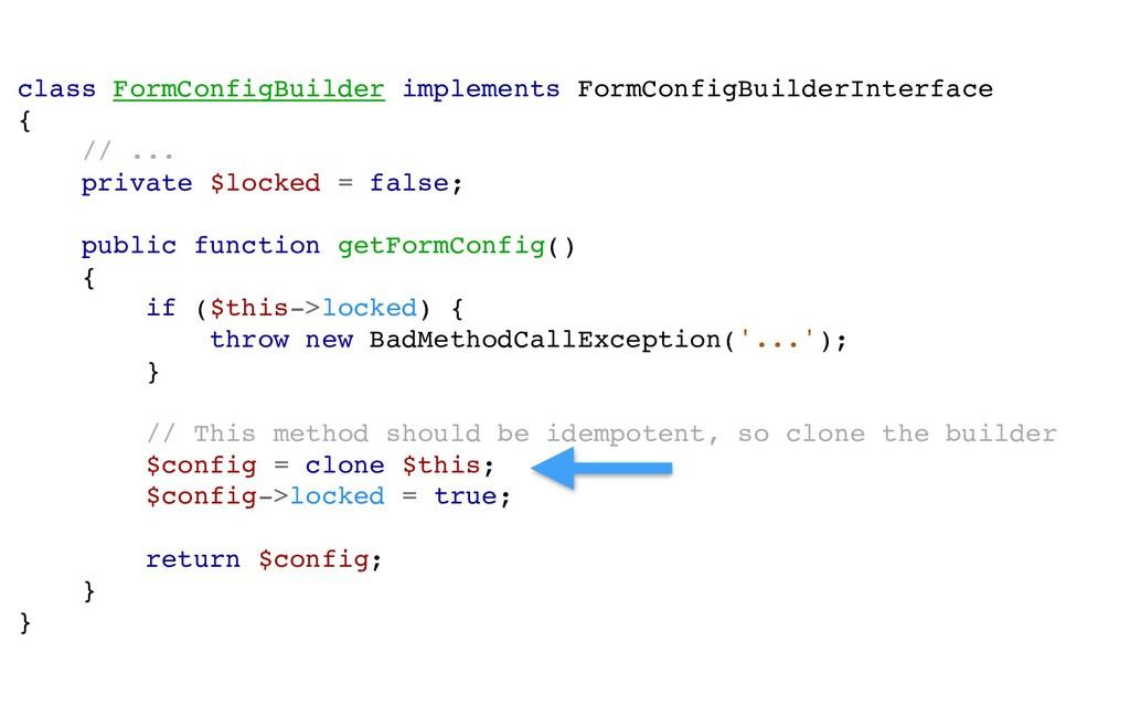 class FormConfigBuilder implements FormConfigBu...