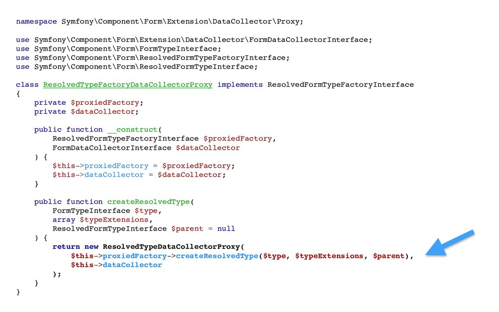 namespace Symfony\Component\Form\Extension\Data...