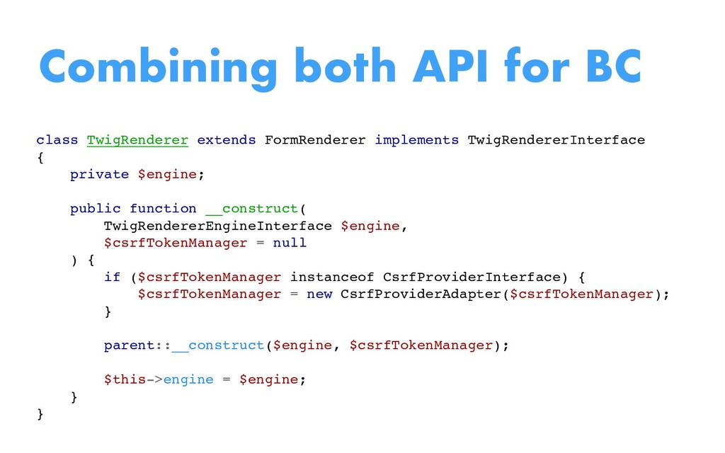 class TwigRenderer extends FormRenderer impleme...