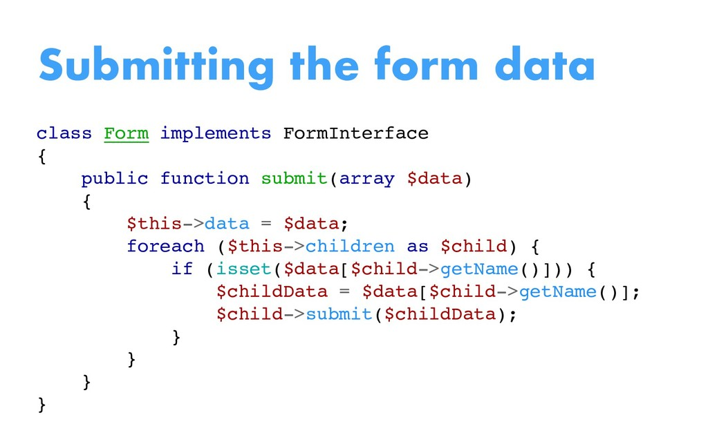 class Form implements FormInterface { public fu...