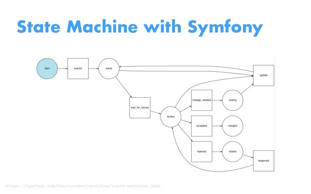 State Machine with Symfony https://symfony.com/...