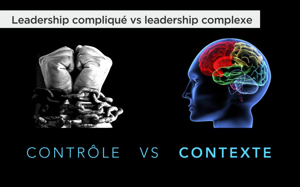 C O N T R Ô L E V S C O N T E X T E Leadership ...