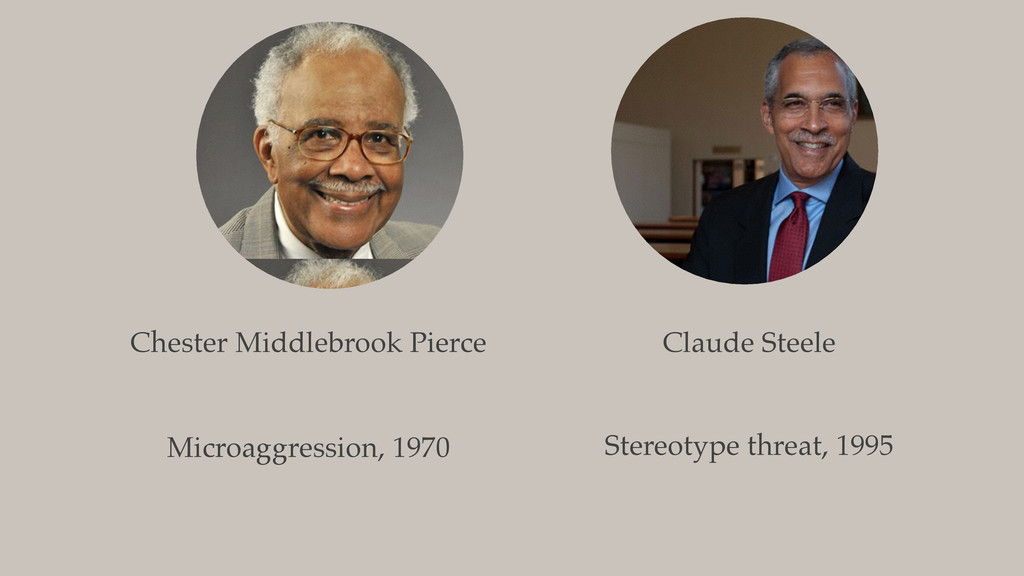 Chester Middlebrook Pierce Microaggression, 197...