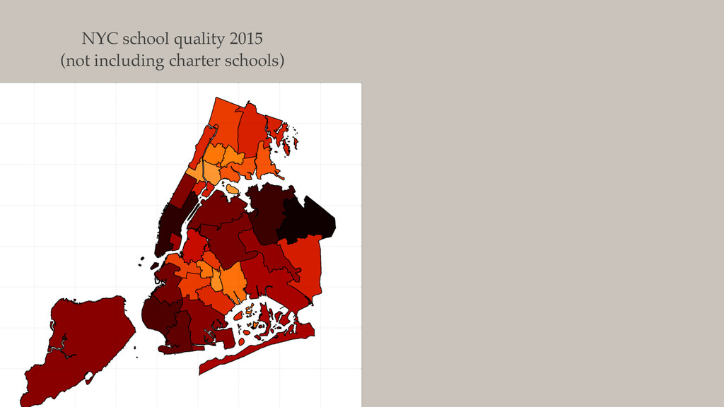 NYC school quality 2015 (not including charter ...