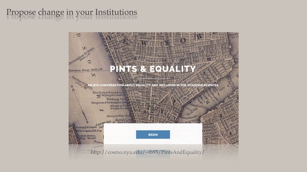 Propose change in your Institutions http://cosm...