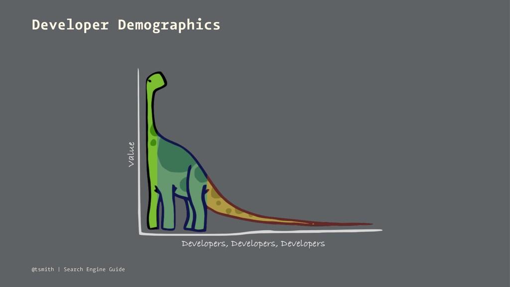 Developer Demographics @tsmith   Search Engine ...