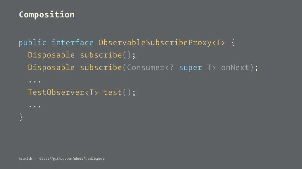 Composition public interface ObservableSubscrib...