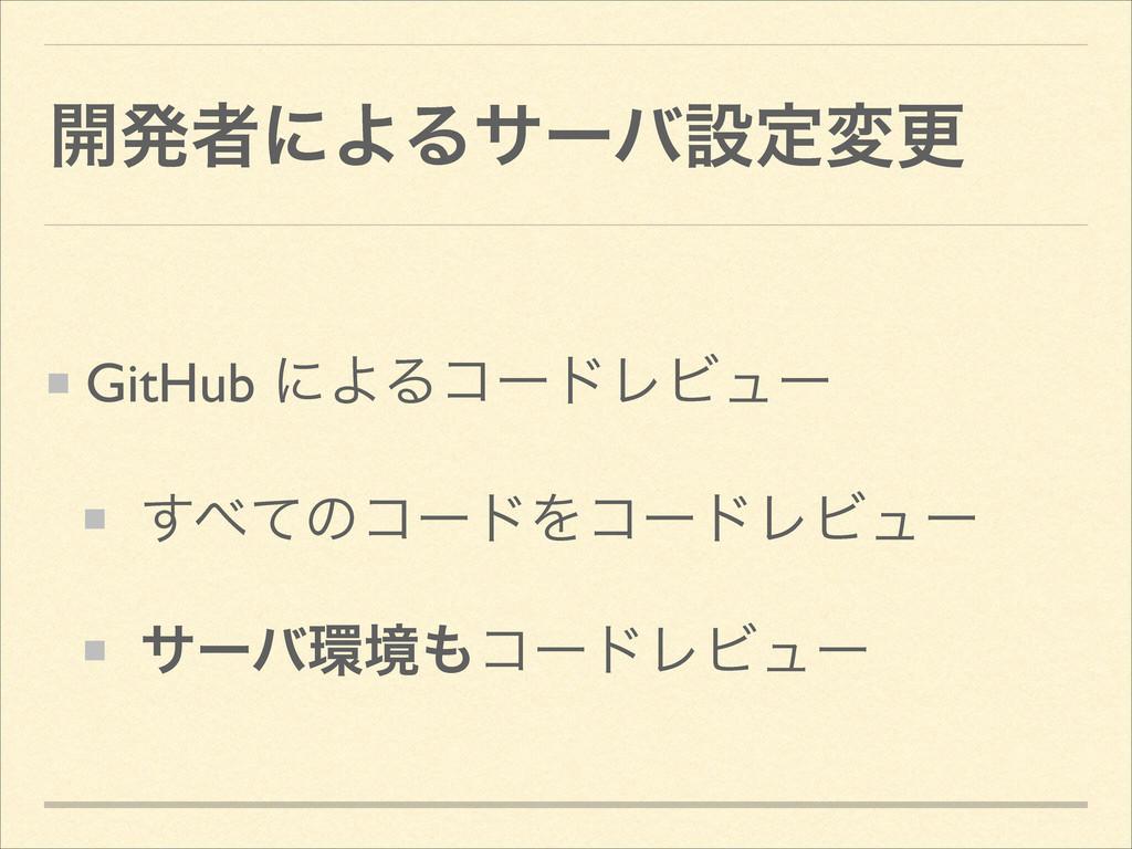 ։ൃऀʹΑΔαʔόઃఆมߋ GitHub ʹΑΔίʔυϨϏϡʔ   ͯ͢ͷίʔυΛίʔυ...
