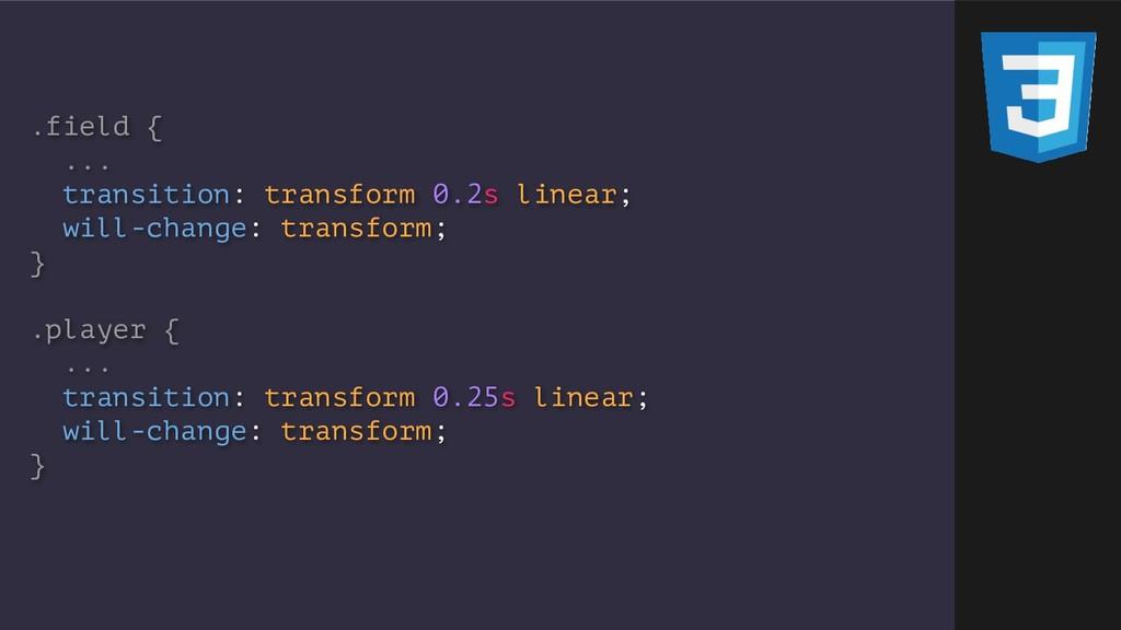 .field { ... transition: transform 0.2s linear;...