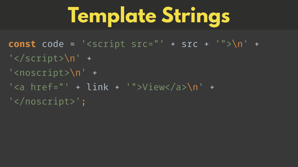 "const code = '<script src=""' + src + '"">\n' + ..."