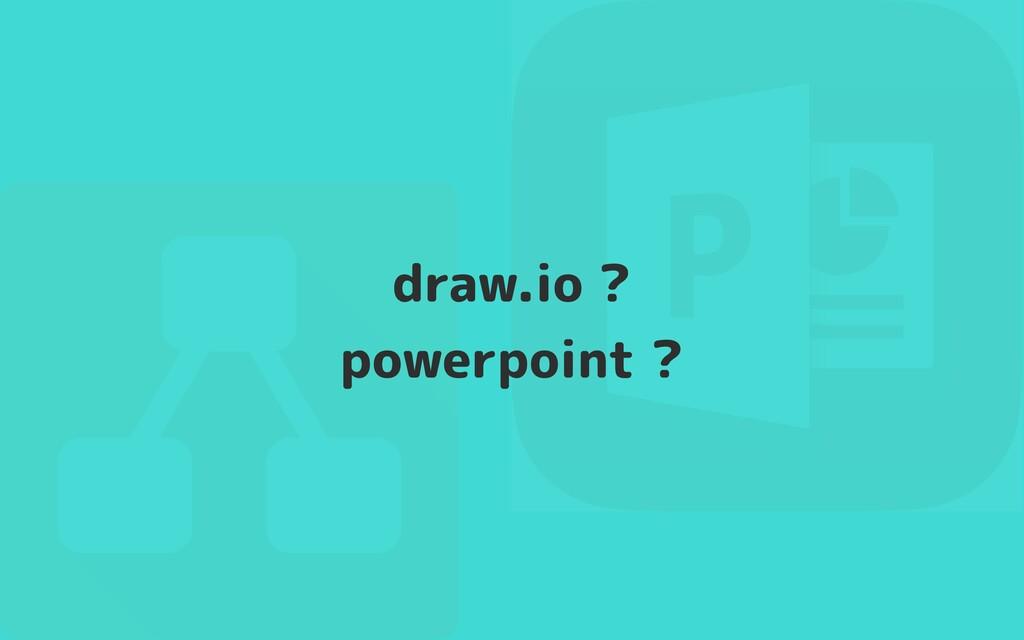 draw.io ?  powerpoint ?