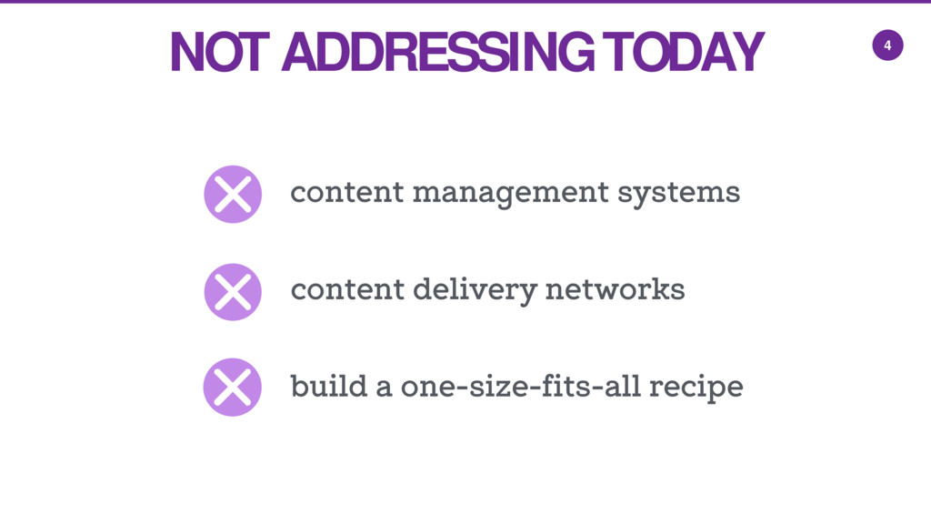 4 NOT ADDRESSING TODAY content management syste...