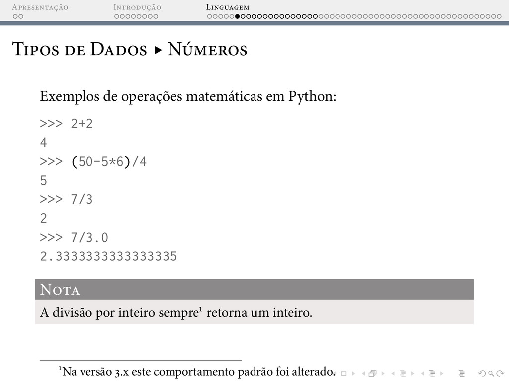 A I L T D ▸ N Exemplos de operações matemáticas...