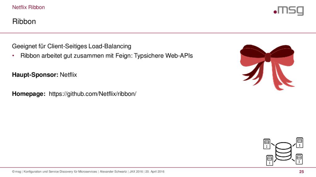 Netflix Ribbon Ribbon © msg | Konfiguration und...