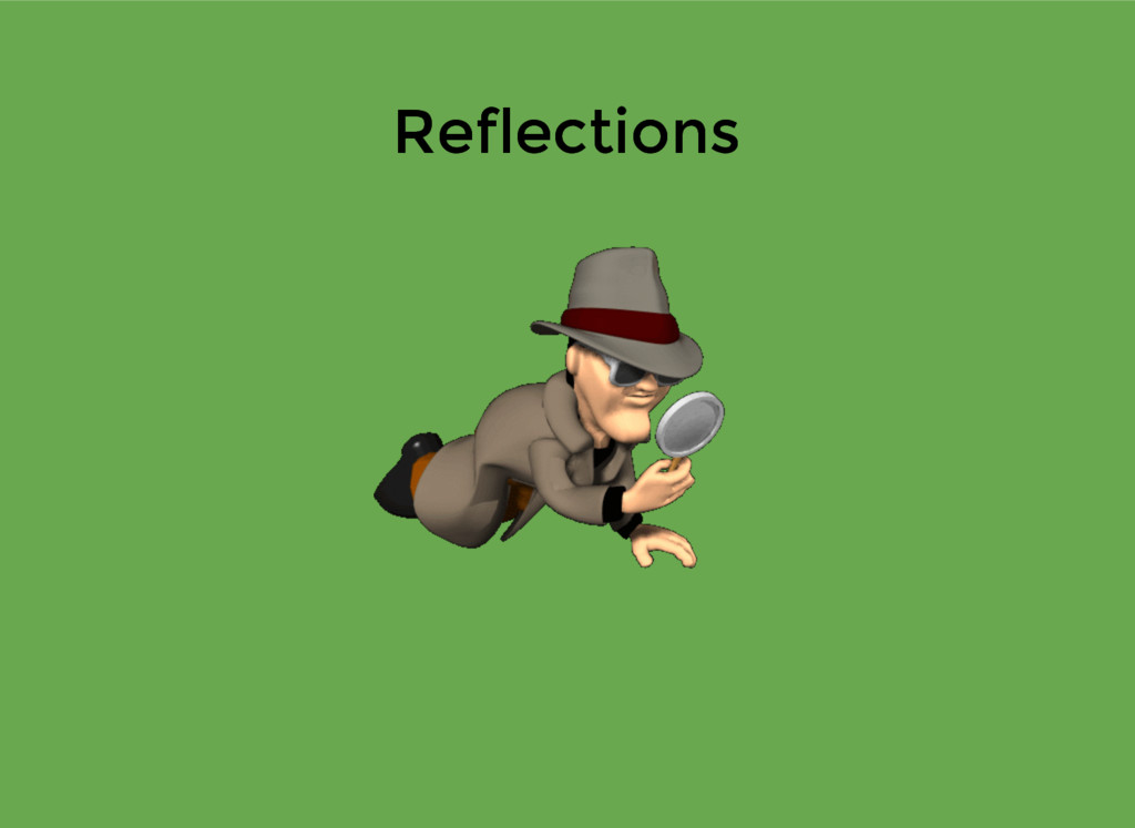 Reflections Reflections