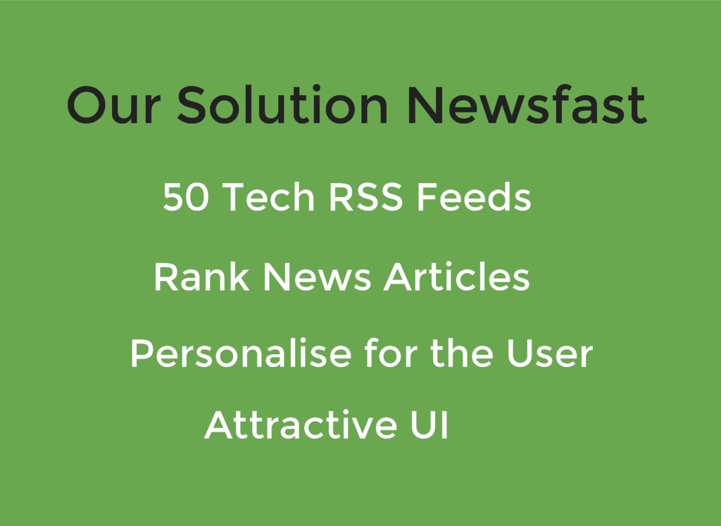 Our Solution Newsfast Our Solution Newsfast 50 ...