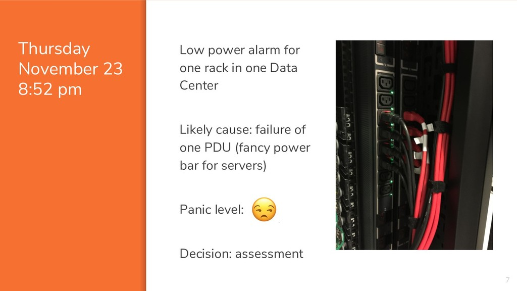 Thursday November 23 8:52 pm Low power alarm fo...