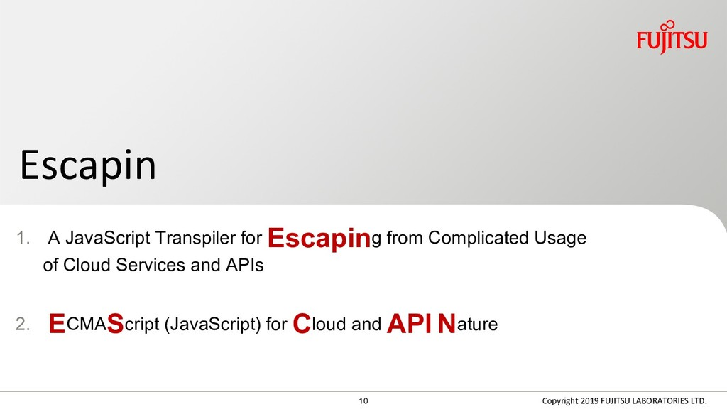 1. A JavaScript Transpiler for Escaping from Co...