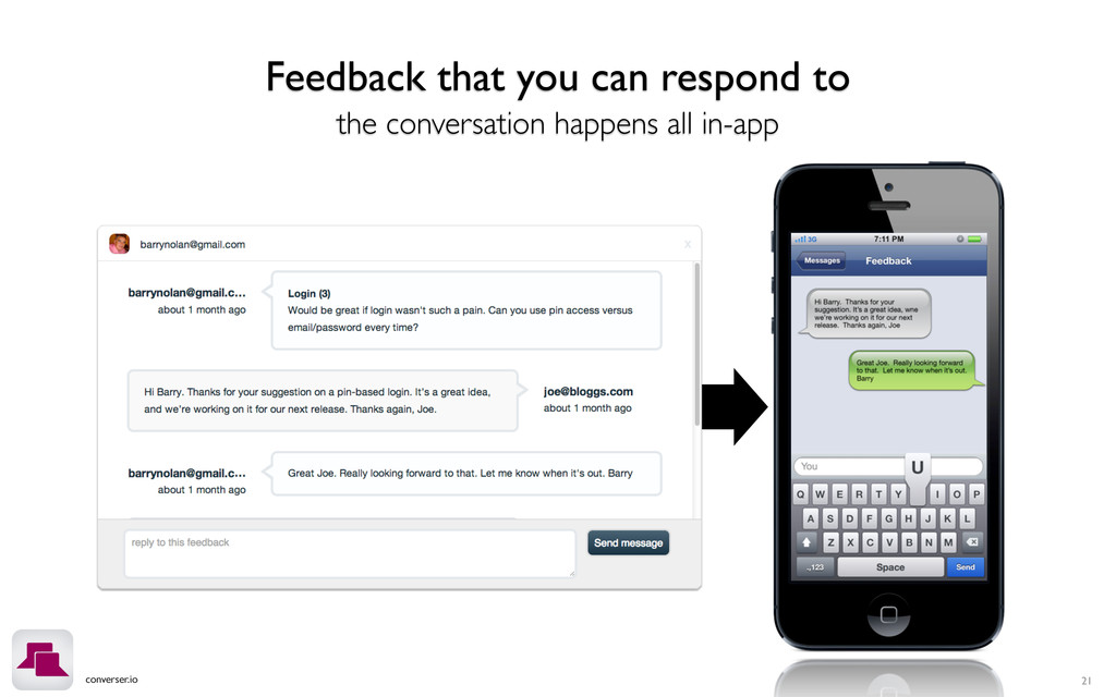 converser.io 21 Feedback that you can respond t...