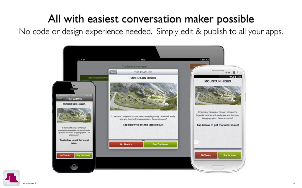 converser.io All with easiest conversation make...