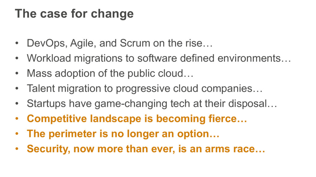 The case for change • DevOps, Agile, and Scrum ...