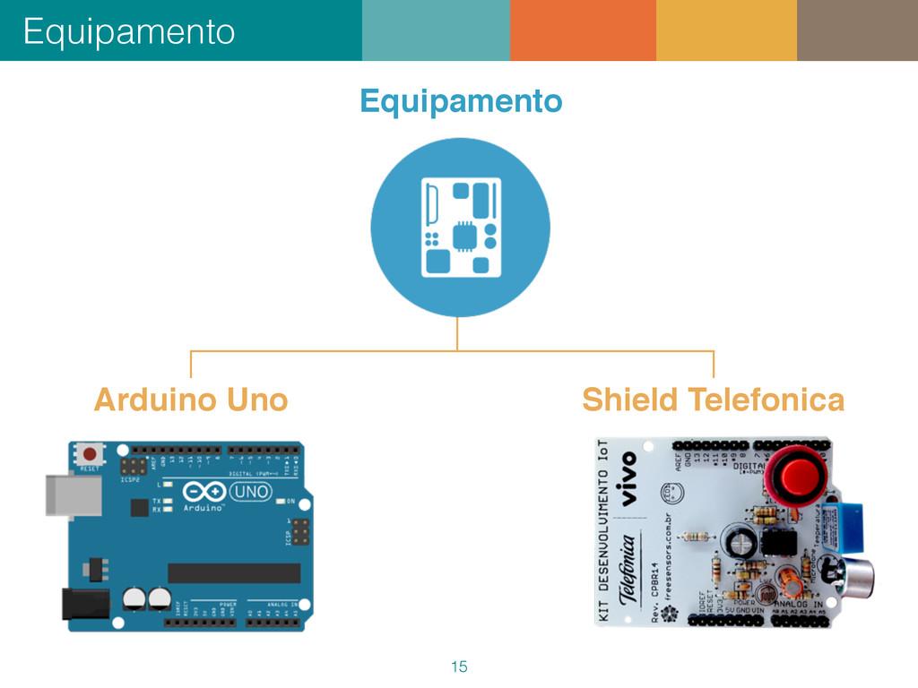 Equipamento 15 Arduino Uno Shield Telefonica Eq...