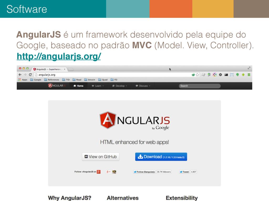 Software 25 + AngularJS é um framework desenvol...