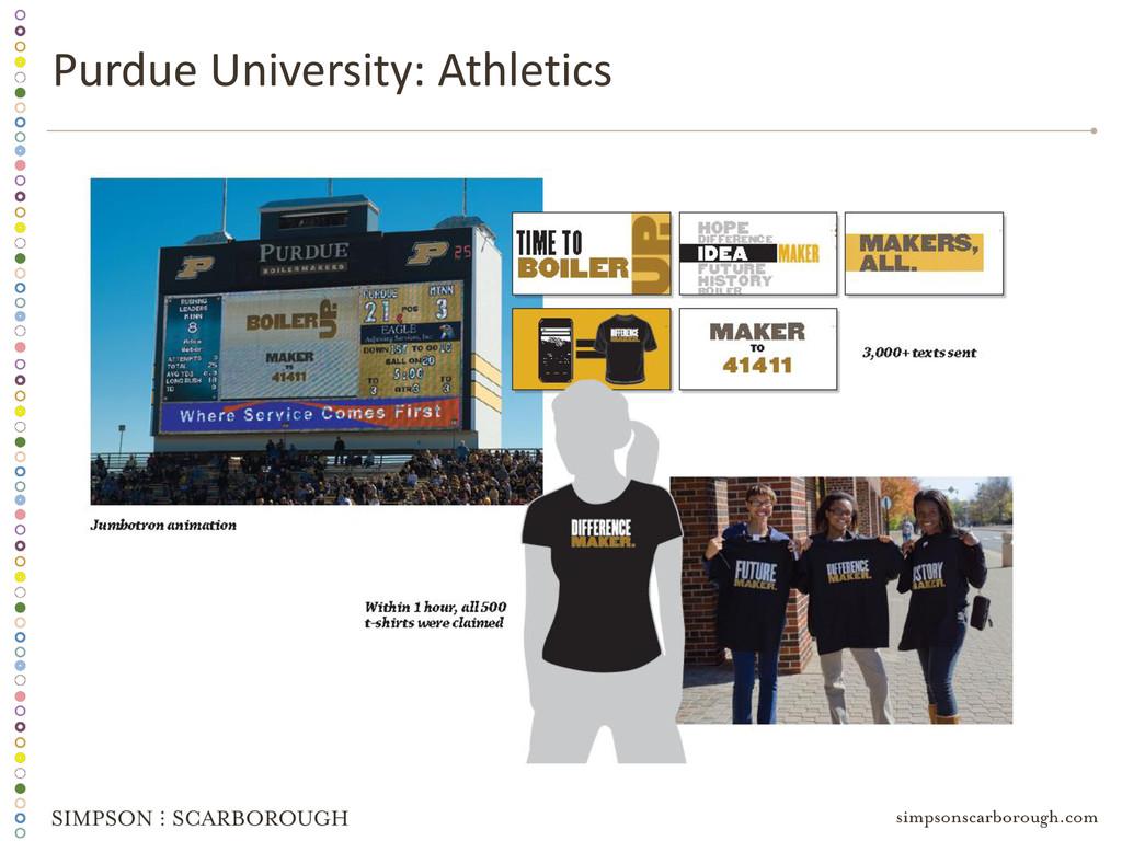 Purdue University: Athletics