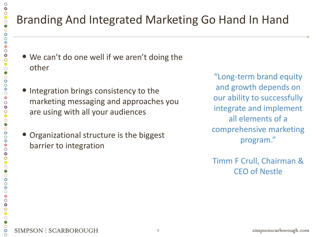 9 Branding And Integrated Marketing Go Hand In ...