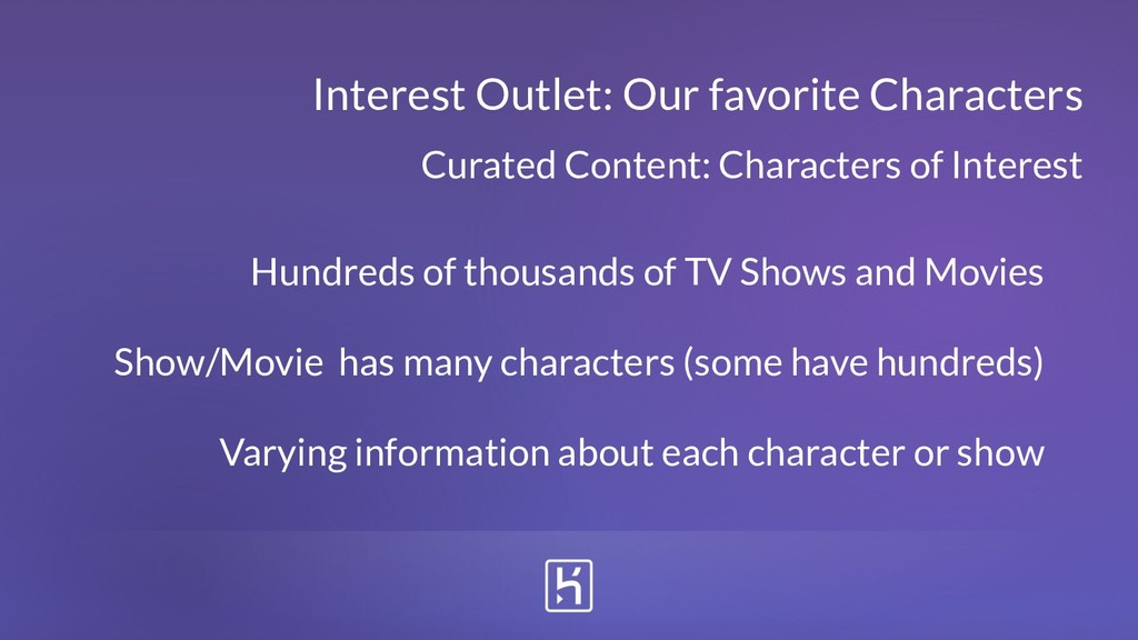 Curated Content: Characters of Interest Interes...