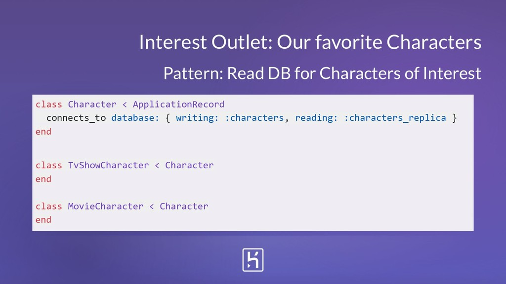 Interest Outlet: Our favorite Characters class ...