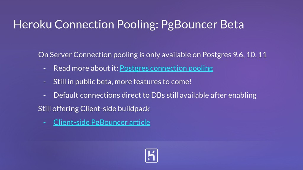 Heroku Connection Pooling: PgBouncer Beta On Se...