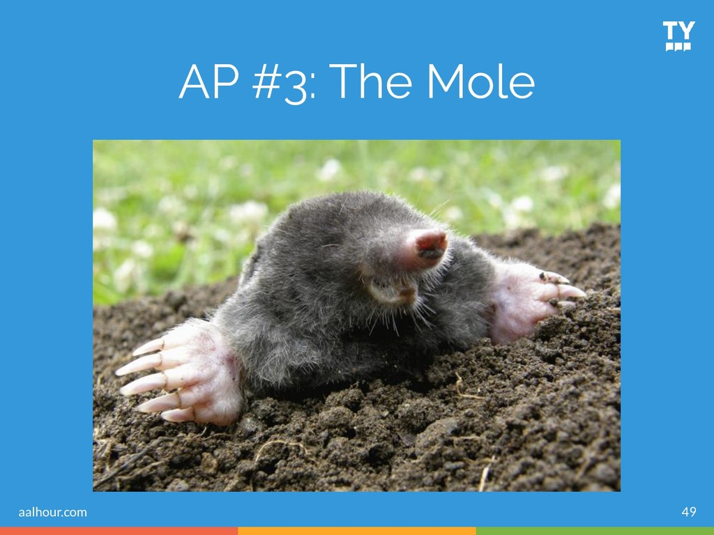 49 AP #3: The Mole aalhour.com