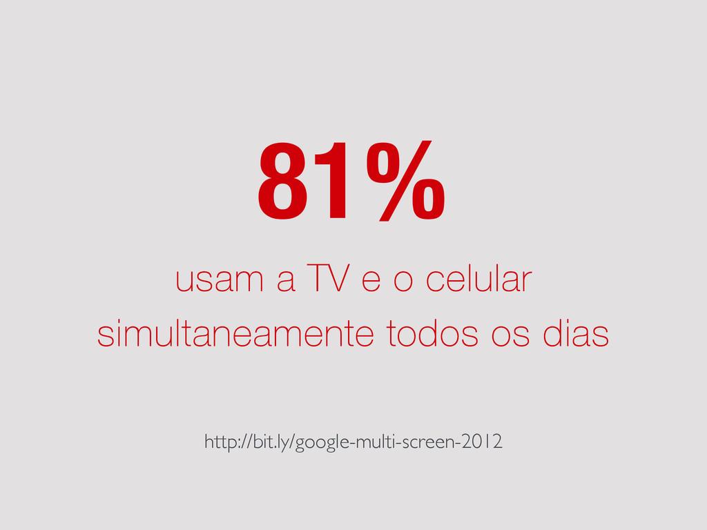usam a TV e o celular simultaneamente todos os ...