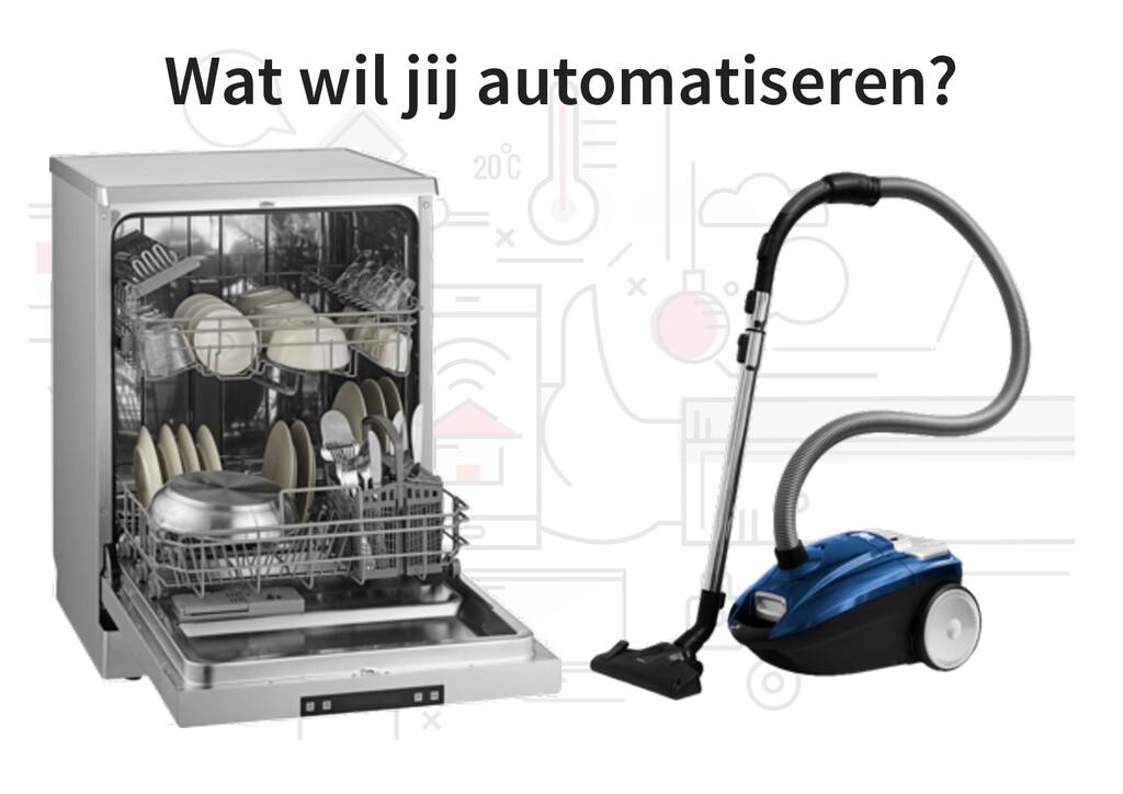 Wat wil jij automatiseren?