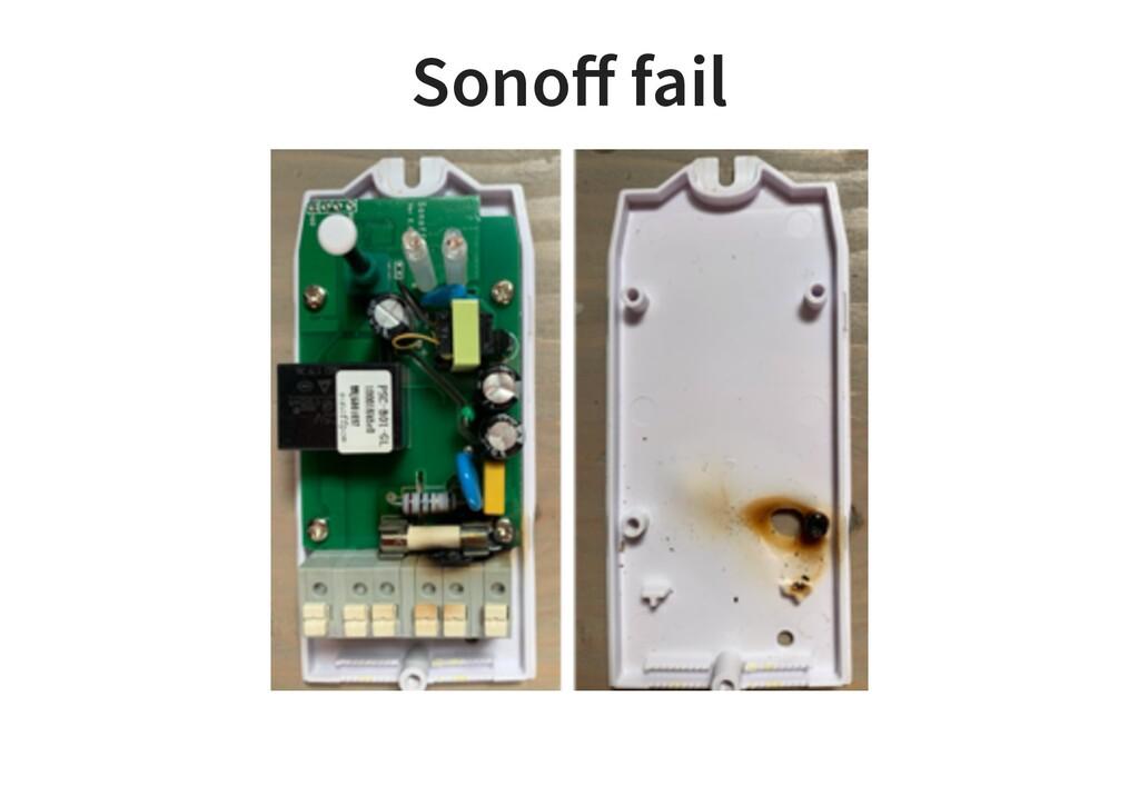 Sonoff fail