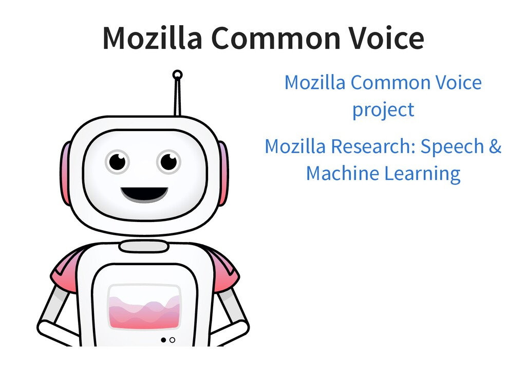 Mozilla Common Voice Mozilla Common Voice proje...