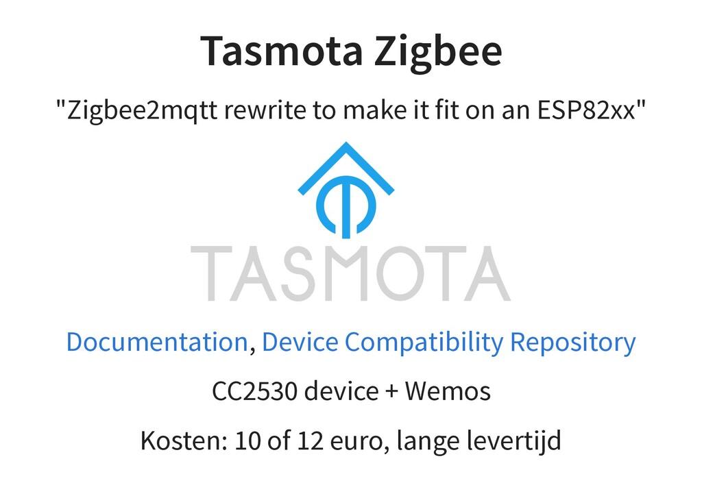 """Tasmota Zigbee """"Zigbee2mqtt rewrite to make it ..."""