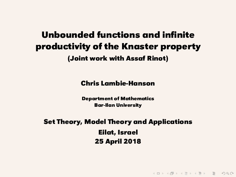 Unbounded functions and infinite productivity of...