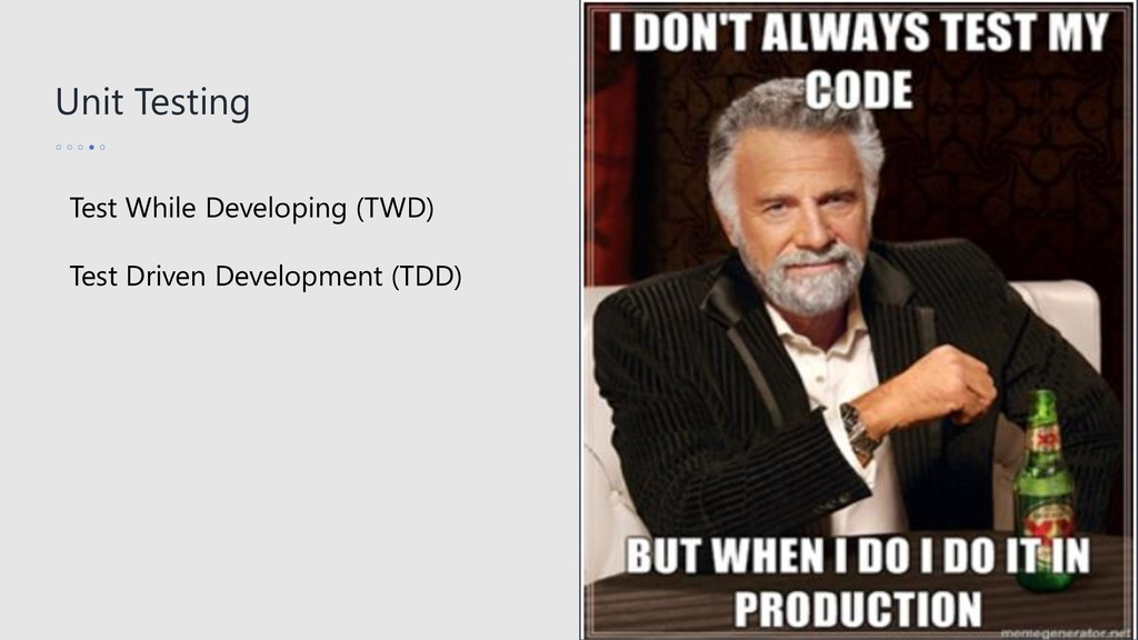 Unit Testing Test While Developing (TWD) Test D...