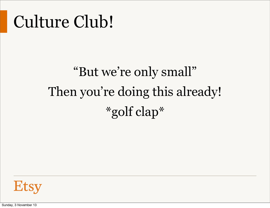 "Culture Club! ""But we're only small"" Then you'r..."