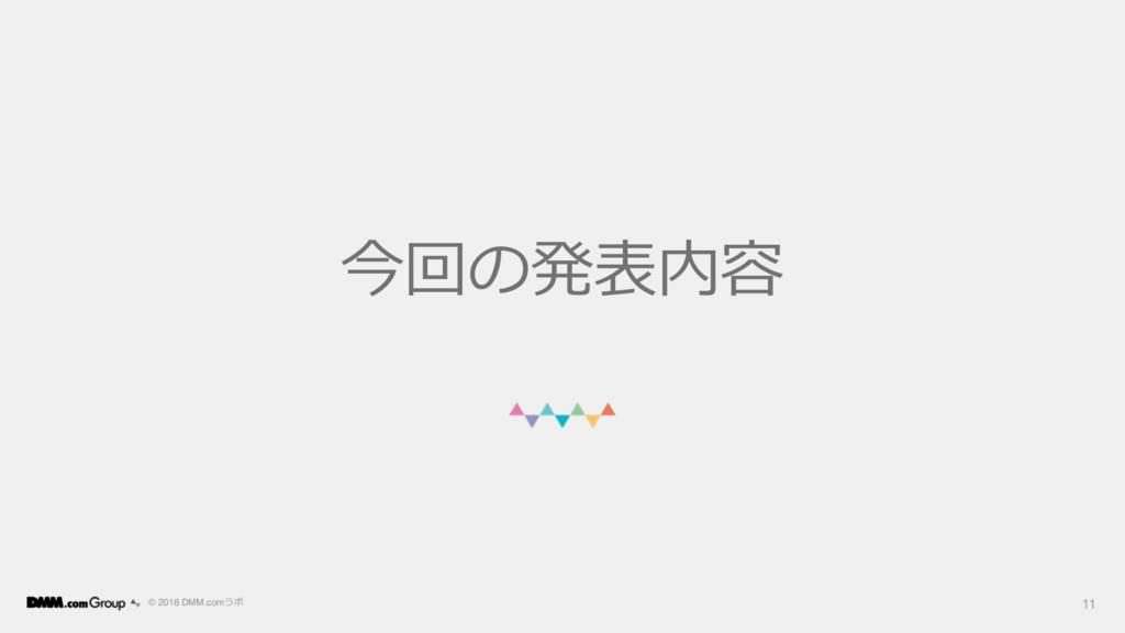 © 2018 DMM.com  11