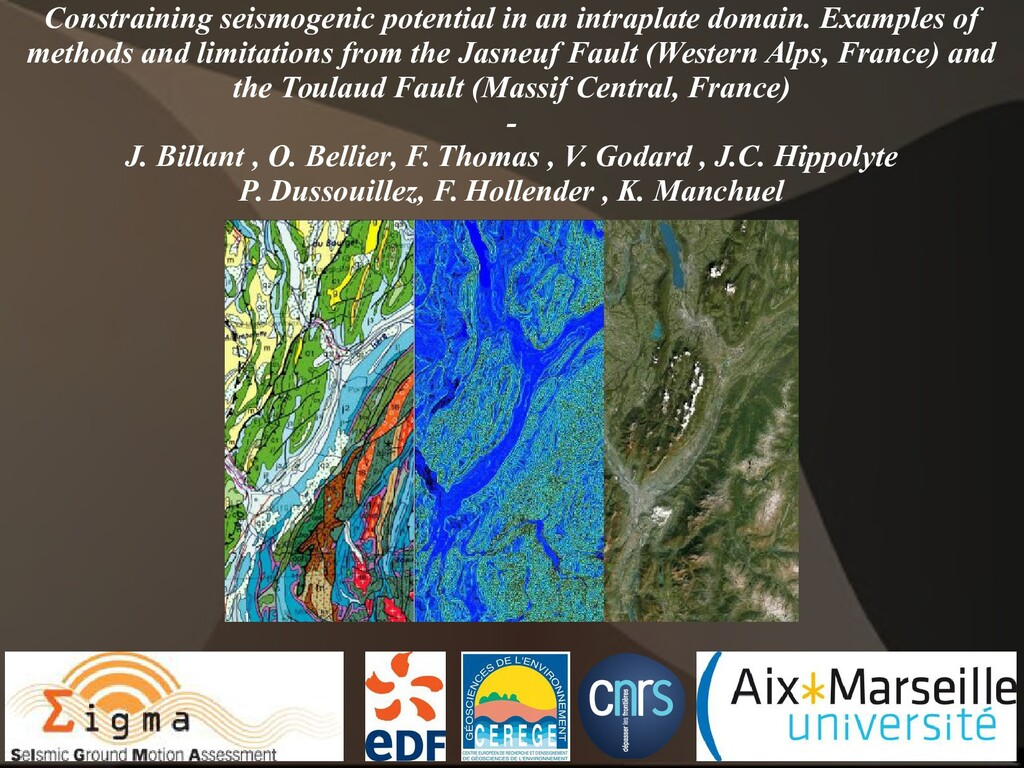 Constraining seismogenic potential in an intrap...