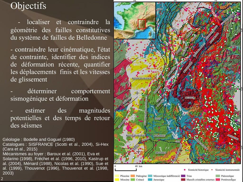 2 Géologie : Bodelle and Goguel (1980) Catalogu...